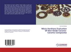 Bookcover of Micro Hardness Evaluation Of Non-Oxide Ceramic-Ceramic Composites