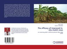 Bookcover of The efficacy of improved in-situ mulch rows