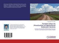 Bookcover of Farmers View on Privatization of Agricultural Extension Services