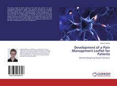 Couverture de Development of a Pain Management Leaflet for Patients