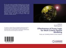 Capa do livro de Effectiveness of Fuzzy Logic for Multi Criteria Spatial Modeling