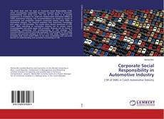 Bookcover of Corporate Social Responsibility in Automotive Industry