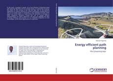 Copertina di Energy efficient path planning