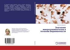 Borítókép a  Значение микроэлементозов в течении беременности - hoz