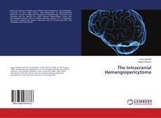 Buchcover von The Intracranial Hemangiopericytoma
