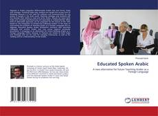 Capa do livro de Educated Spoken Arabic