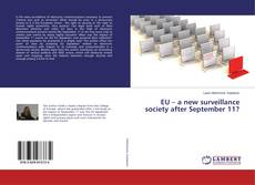 EU – a new surveillance society after September 11? kitap kapağı