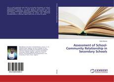 Bookcover of Assessment of School-Community Relationship in Secondary Schools
