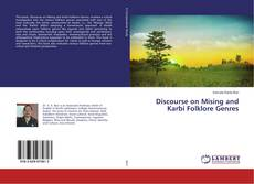 Discourse on Mising and Karbi Folklore Genres的封面
