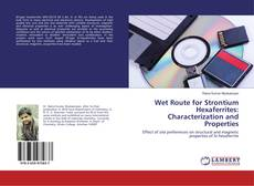 Bookcover of Wet Route for Strontium Hexaferrites: Characterization and Properties