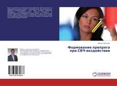 Buchcover von Формование препрега при СВЧ-воздействии