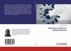 Buchcover von Nonlinear effect on optomechanics