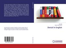 Bookcover of Denial in English