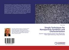 Capa do livro de Simple Techniques for Nanoparticle Synthesis and Characterization