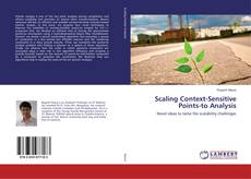 Capa do livro de Scaling Context-Sensitive Points-to Analysis