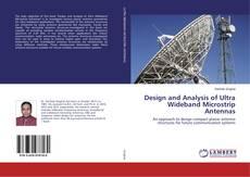 Buchcover von Design and Analysis of Ultra Wideband Microstrip Antennas