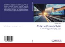 Bookcover of Design and Implementation