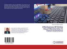 Buchcover von Effectiveness Of Online Visual Merchandise In Indian Ecommerce
