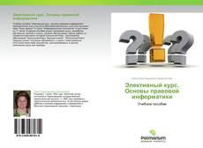 Bookcover of Элективный курс. Основы правовой информатики