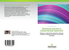 Borítókép a  Значение магния в клинической практике - hoz