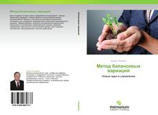 Bookcover of Метод балансовых вариаций