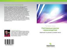Bookcover of Системные риски производства