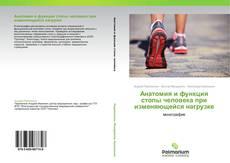 Capa do livro de Анатомия и функция стопы человека при изменяющейся нагрузке
