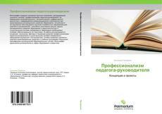Профессионализм педагога-руководителя的封面