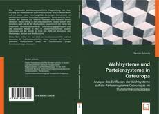 Portada del libro de Wahlsysteme und Parteiensysteme in Osteuropa