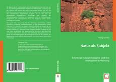 Bookcover of Natur als Subjekt