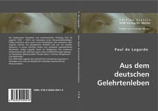 Bookcover of Aus dem deutschen Gelehrtenleben