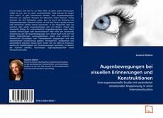 Capa do livro de Augenbewegungen bei visuellen Erinnerungen und Konstruktionen