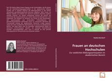 Buchcover von Frauen an deutschen Hochschulen
