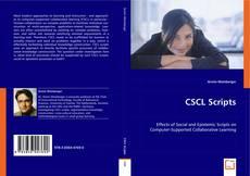 Bookcover of CSCL Scripts