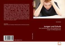 Buchcover von Jungen und Schule
