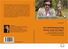 Bookcover of Das Gleichheitsprinzip immer noch ein Ideal?