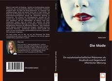 Bookcover of Die Mode