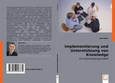 Обложка Implementierung und Unterstützung von Knowledge Communities