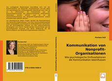 Bookcover of Kommunikation von Nonprofit-Organisationen