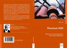 Bookcover of Planstaat DDR