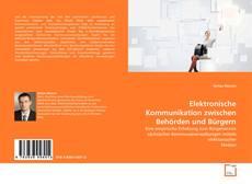 Buchcover von Elektronische Kommunikation zwischen Behörden und Bürgern