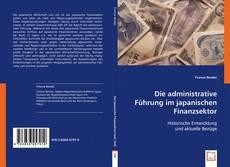 Couverture de Die administrative Führung im japanischen Finanzsektor