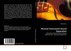 Capa do livro de Musical Instrument Sound Separation