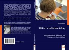 Buchcover von LRS im schulischen Alltag
