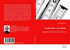 Bookcover of Funktionen von Mode