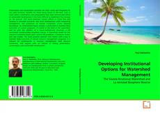 Couverture de Developing Institutional Options for Watershed Management