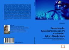 Buchcover von Detektion der Laktatkonzentration im maximalen  Laktat-Steady-State