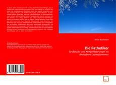 Die Pathetiker kitap kapağı