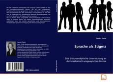 Bookcover of Sprache als Stigma