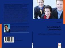 Buchcover von Junge Biotech-Unternehmen